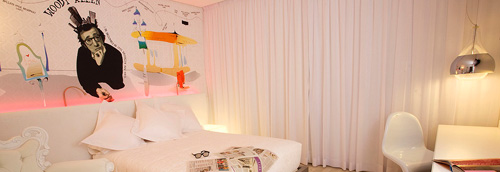 Hotels in centre of Madrid. DormirDcine Coolture Hotel