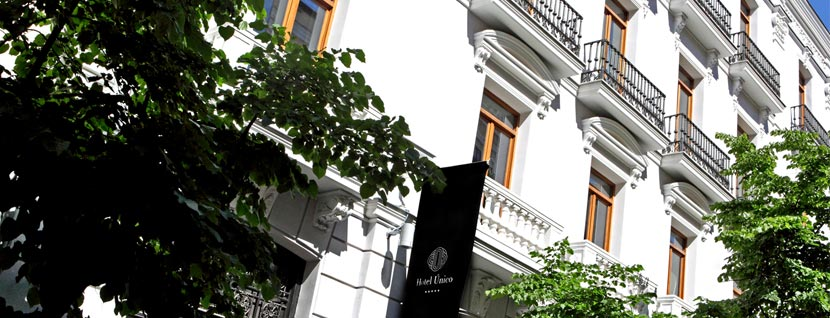 Luxury Hotel in Madrid city center. Hotel Único
