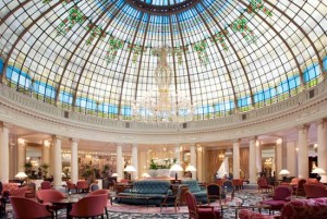 Luxury hotels in Madrid. The Palace