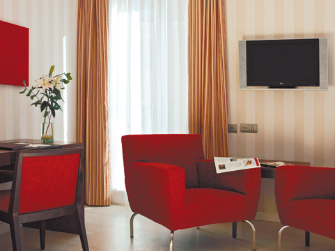 Hotels in Madrid. The Hesperia Hermosilla Hotel