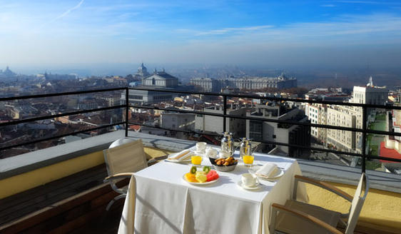 Best hotels in Madrid. The Vincci Capitol Hotel