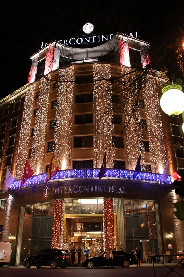 5 Star Hotels In Madrid The Intercontinental Hotel The