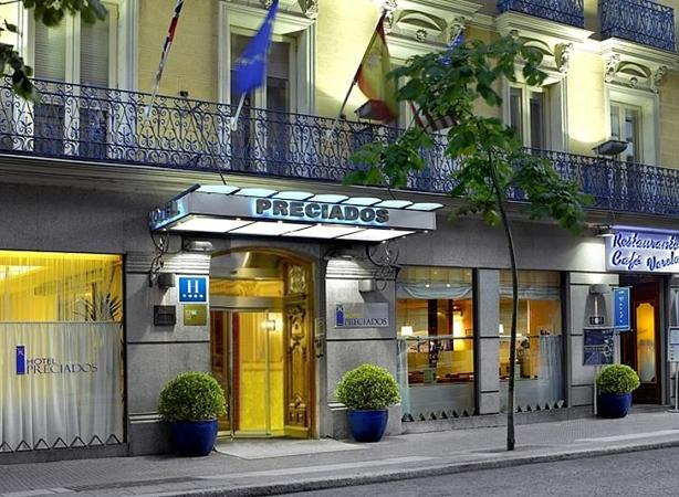Preciados hotel hotels in madrid city center the for Design boutique hotel madrid