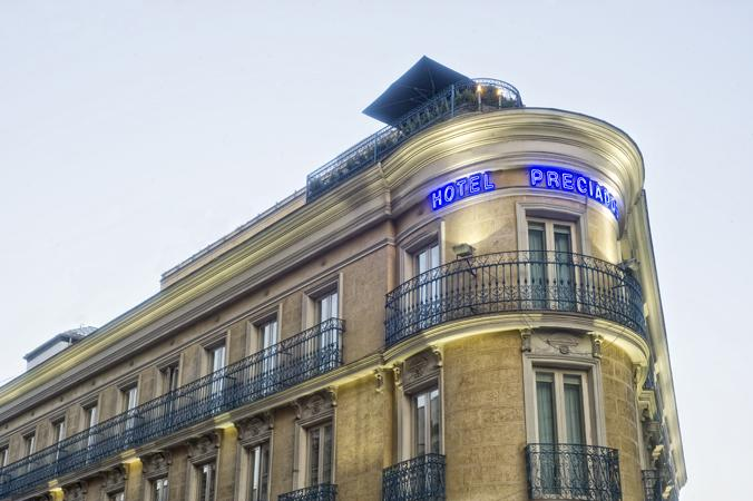 Preciados hotel hotels in madrid city center the for Hotel preciados madrid
