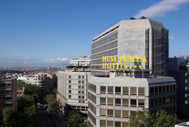 4 Star Hotels In Madrid The Husa Princesa Hotel The