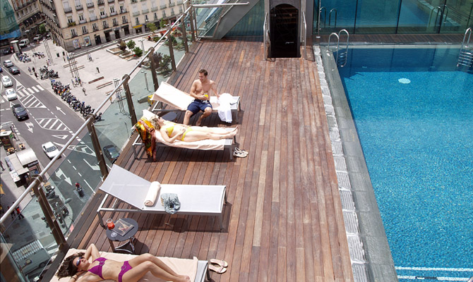 Hotels in Madrid Spain. The Mercure Hotel.