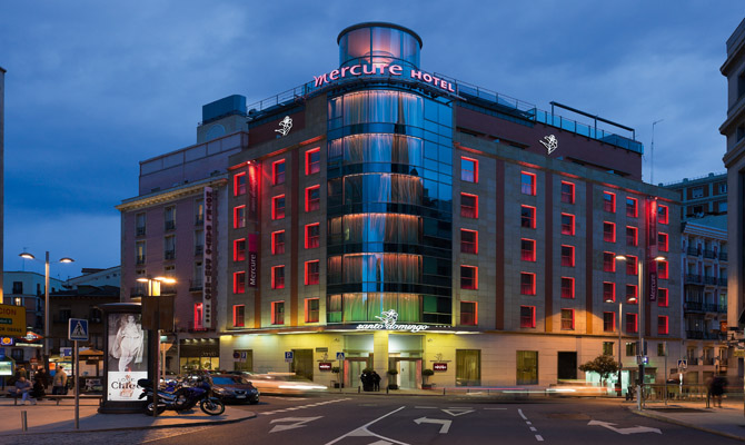 Hotels In Madrid Spain The Mercure Hotel The