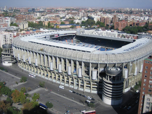 hotels near the Santiago Bernabeu Stadium