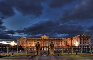 Vacations in Madrid. Madrid Royal Palace.