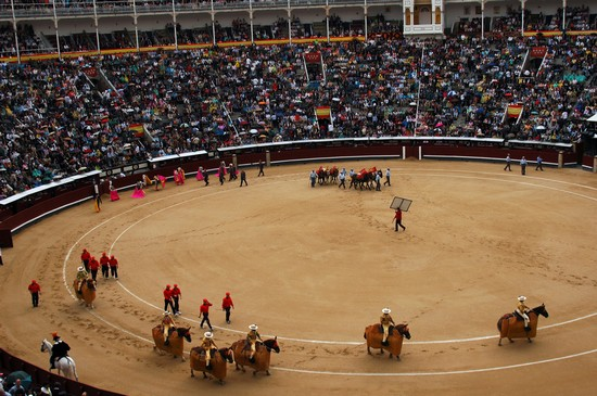 Bullring in Madrid