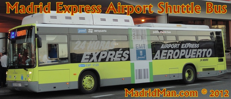 Madrid transfers to airport