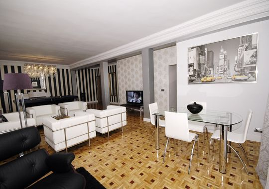 Holiday apartments in madrid luxury apartments in madrid for Luxury suites madrid madrid