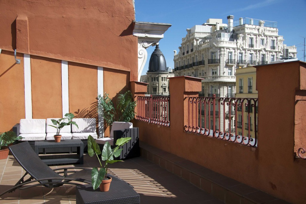 Apartment for rental in madrid gran via apartment the for Appart hotel madrid