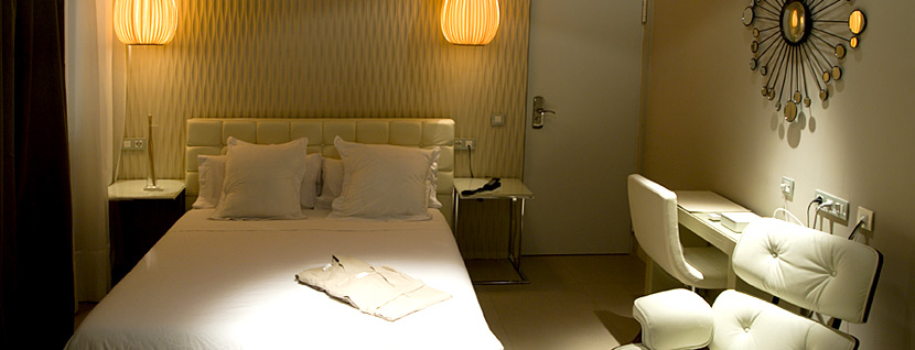 Boutique Hotel in Madrid. Abalú Hotel in Malasaña