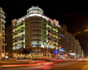 Hotel in Madrid city center. Emperador Hotel Madrid.