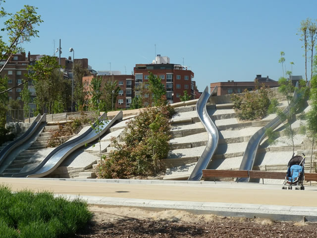 Locations Of Interest In Madrid Madrid Rio Park The