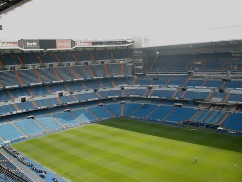 Madrid Sightseeing. Santiago Bernabeu Stadium