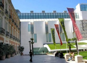 The Thyssen Museum. Tourist Attractions in Madrid.