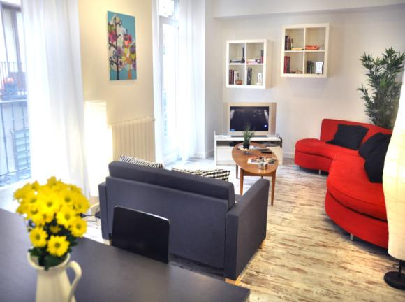 Rent apartment for days in Madrid