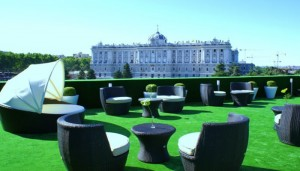 Apartments for rent in Madrid. Suites Jardines de Sabatini.