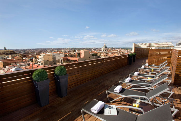 Hotels in the heart of Madrid