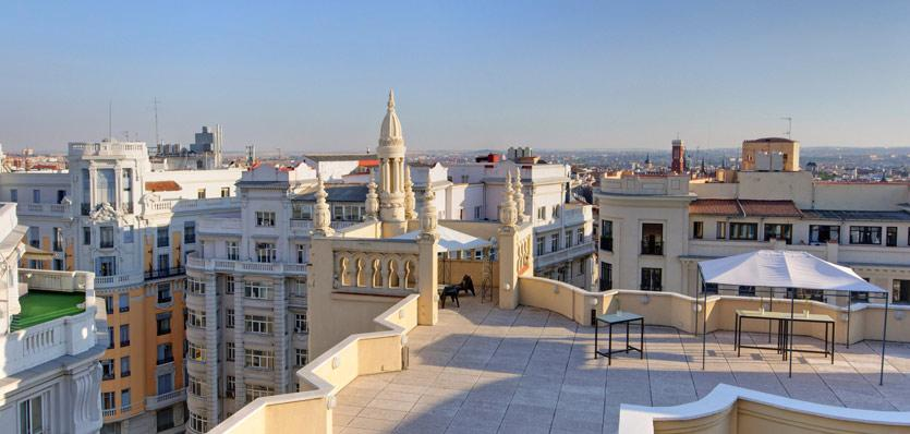 Hotels In Madrid Tryp Madrid Cibeles Hotel The