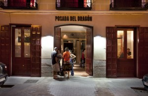 Cool hotels in Madrid. Posada del Dragón.