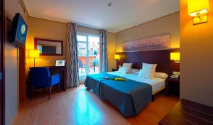 Hotels in Madrid. Hotel Ganivet in La Latina.