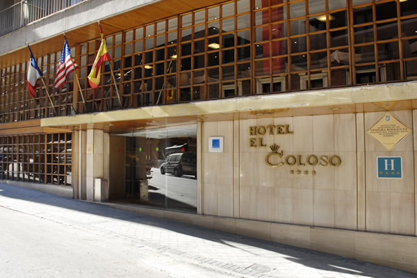 Hotels In Madrid City Center El Coloso Hotel The