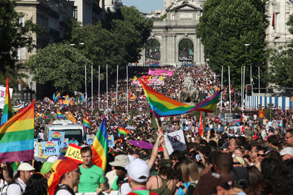Madrid Gay Pride 2013.