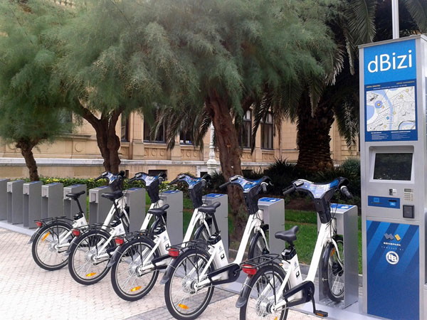 Electric Bikes for ridding Madrid in a while.